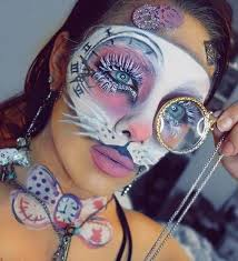 alice in wonderland and makeup image