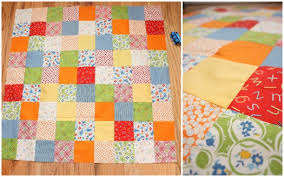 Quilt Along Series: Piecing Cut Fabric Squares | Make and Takes & Quilt Along Series: Piecing Cut Fabric Squares Adamdwight.com