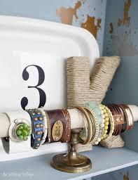 diy cuff bracelet holder via theletteredcottage net