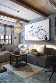 Paint Colors Industrial Living Room Sofa Lighting Decor Ideas Design Furniture Chic Cozy In Grey Tones Digsdigs Awesome Nuanceandfathom Industrial Chic Wall Decor Sudaakorg