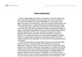 ode to a nightingale essay b j pinchbecks homework help line ode to a nightingale ode on a grecian urn comparison