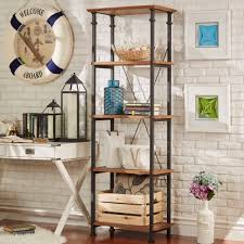 Myra Vintage Industrial Modern Rustic Bookcase by iNSPIRE Q Classic    Overstock.com Shopping -