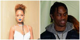 Rihanna was seen kissing a new guy in spain. Rihanna Reportedly Dating Rapper Travis Scott Glamour
