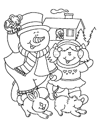 Small Picture Free Christmas And Winter Coloring Pages To Print And Color