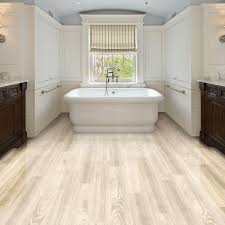 Bathroom Wonderful White Oak Wood Floor For Appealing Bathroom
