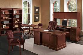 hon desk and credenza