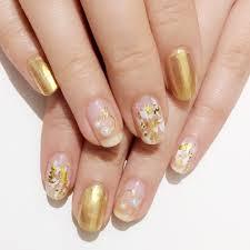 ネイルはゴールドが旬 いますぐマネしたいデザインを総まとめmamagirl