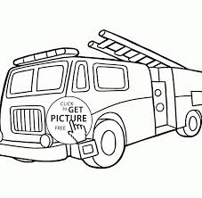 Fire Truck Coloring Pages To Print Engine Colouring Printable Sheets