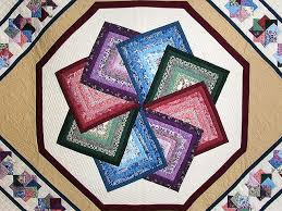Star Spin Quilt -- exquisite cleverly made Amish Quilts from ... & ... Multicolor Tan and Burgundy Star Spin Quilt Photo 3 ... Adamdwight.com