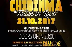 Mtv Base Music Chart Chidinma Live In Frankfurt Show Cancelled The African