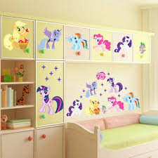 my little ponies wal spectacular my little pony wall decals