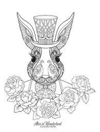 658 Alice In Wonderland Rabbit Stock Vector Illustration And Royalty