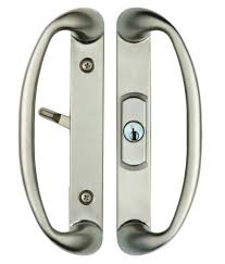 large size of alluring brushed nickel sonoma sliding door handle and center keylock with key lock