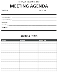 agenda of a meeting format business meeting agenda template sample for meetings samples yakult co