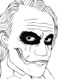 Small Picture Joker sketch The Dark Knight via wwwdeviantartcom Coloring