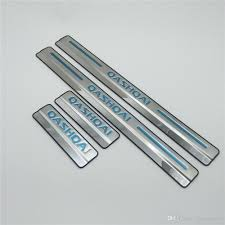 Best For Nissan Qashqai Door Sill Scuff Plate Stainless Steel Door ...