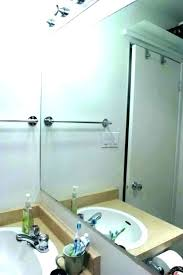 how to remove mirror from wall bathroom remove bathroom wall mirror clips