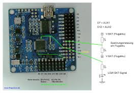 neutron arm thyself hobby king multiwii 328p flight controller w those who wish can also wire the pin a3 which is not necessary however because the v batpin has been redefined according to the software provided above