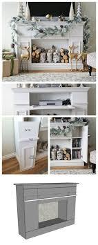 Fireplace Ideas Diy Best 10 Diy Fireplace Ideas On Pinterest Faux Fireplace Fake