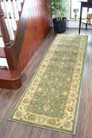 moss sage green soft antique style runner rugs short long narrow wide mats