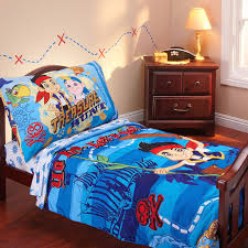 disney jake neverland pirates 3 piece toddler bedding set with with toddler bed bedding for