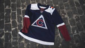 Shop the latest colorado avalanche home jerseys and more. Avalanche Reveals Third Jersey For 2018 19 Season