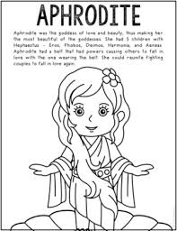 The olympian brothers each received a weapon to battle the titans: Greek Mythology Coloring Pages Worksheets Teaching Resources Tpt