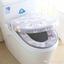 toilet seat cover set washable two pieces toilet seat covers set cute soft warmer fl toilet