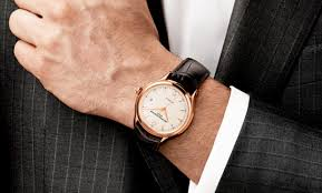 how to wear a big watch the idle man black watch a suit mens street style
