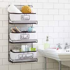 3 tier wire bath shelf bathroom wall