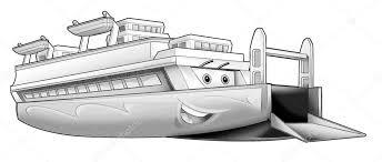 Boot Kleurplaat