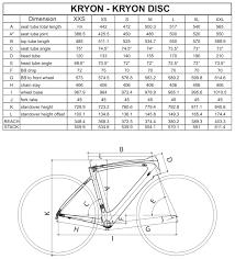 Kuota Kharma Frame Size Chart Foxytoon Co