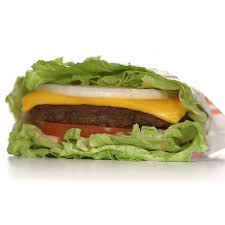 their flying dutchman is a bination of two meat patties two slices of cheese and no bun or lettuce wrap they don t have the nutrition information for