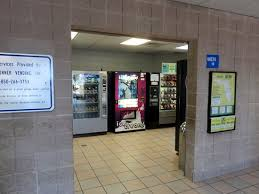 Restroom Vending Machines Impressive A Vending Machine Area And The Restrooms Picture Of Florida