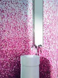 White Mosaic Bathroom White And Pink Mosaic Bathroom Tiles Mosaic Bathroom Tiles
