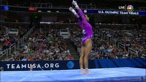 floor gymnastics gabby. Olympic Trials: Gabby Douglas Shines On Uneven Bars Floor Gymnastics