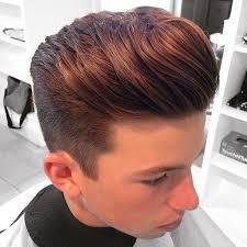 short sides long natural looking hair on top