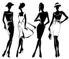 Fashion Girls Illustration Vector Set 02 Free Download