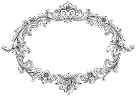 Black vintage frame design Powerpoint Border Free Vintage Clip Art Banners Vintage Clip Art Fancy Oval Frame The Graphics Fairy Pinterest Vintage Clip Art Fancy Oval Frame Royalty Free Pinterest