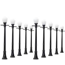 O Scale Street Lights Us 13 49 10 Off Lcx04 10pcs Model Railway Lamppost Lamps Street Lights O Scale Leds New 3v 1 43 In Model Building Kits From Toys Hobbies On