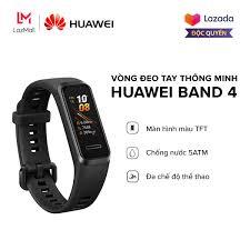 Shop bán [HÀNG CHÍNH HÃNG - ĐỘC QUYỀN LAZADA] Vòng đeo tay thông minh  Huawei Band 4 - Màn hình màu TFT - TruSleep 2.0 - Chống nước 5ATM - Đa chế  độ thể thao