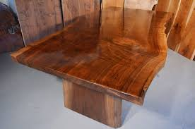 contemporary rustic furniture. Custom Contemporary Rustic Claro Walnut Slab Table The Rauff 1 Furniture