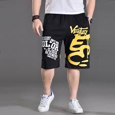 Basket Pant Design Us 20 89 45 Off Basketball Sport Capri Shorts Men Cotton Print Logo Hiphop Design Mens Skateboard Sport Sweatpants Black Gray In Board Shorts From
