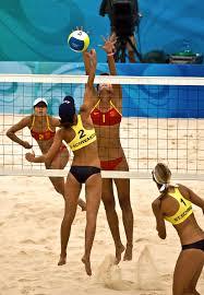 Пляжный волейбол Википедия