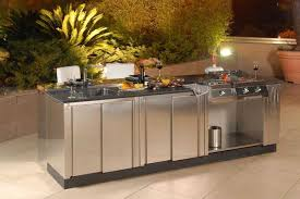 Outdoor Kitchen Countertops Outdoor Kitchen Concrete Countertop Sealer Home Romantic