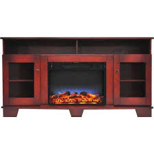 savona 59 in electric fireplace in cherry