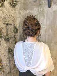 結婚式二次会にオススメヘアアレンジ ヘアサロン Pedal