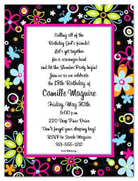 Cool Party Invitation Wording Invitation Words For Birthday Party