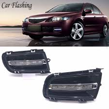 2006 Mazda 6 Lights Us 43 99 10 Off 2pcs Drl For Mazda 6 Mazda6 2005 2006 2007 2008 2009 Led Drl Daytime Running Lights Daylight Fog Light With Turn Signal Lamp In Car