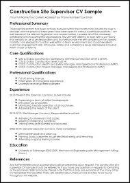 Supervisor Resume Sample Free Service Supervisor Resume Samples Customer Sample Letsdeliver Co